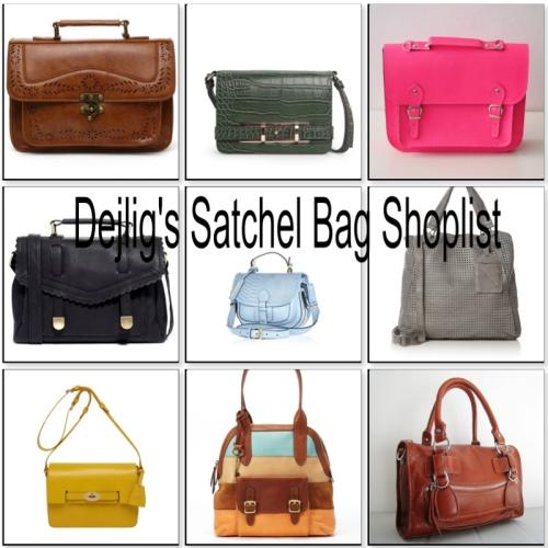 Dejlig's Satchel Bag Shoplist