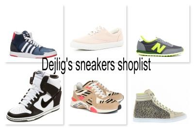 sneakers shoplist