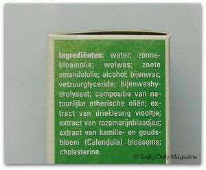 weleda ingredienten