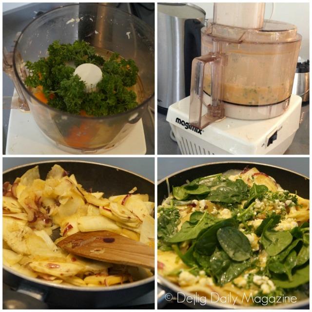 Zoete aardappeltortilla how to